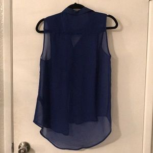 H&M Tops - SHEER BUTTON DOWN